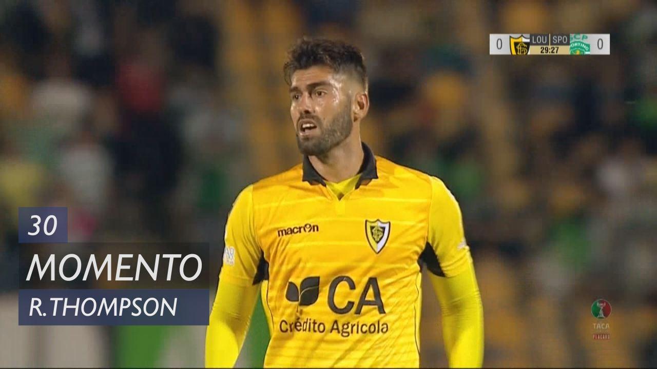 Loures, Jogada, Rodrigo Thompson aos 30'