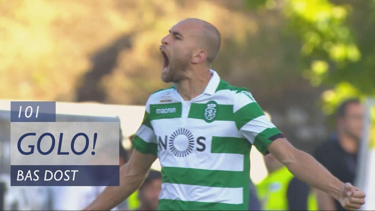 GOLO! Sporting CP, Bas Dost aos 101', Sporting CP 2-1 FC Porto