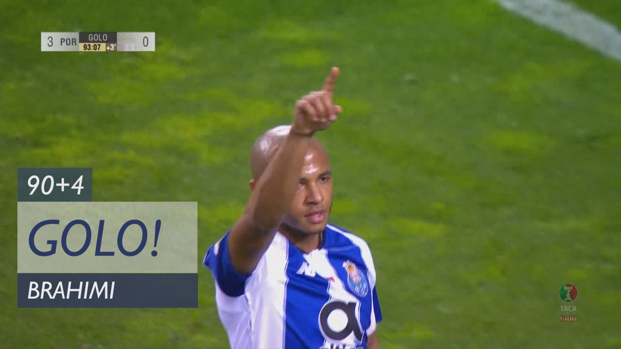 GOLO! FC Porto, Brahimi aos 90'+4', FC Porto 3-0 S...