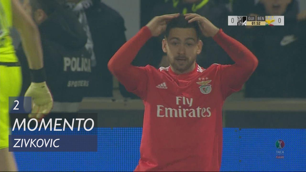 SL Benfica, Jogada, Zivkovic aos 2'