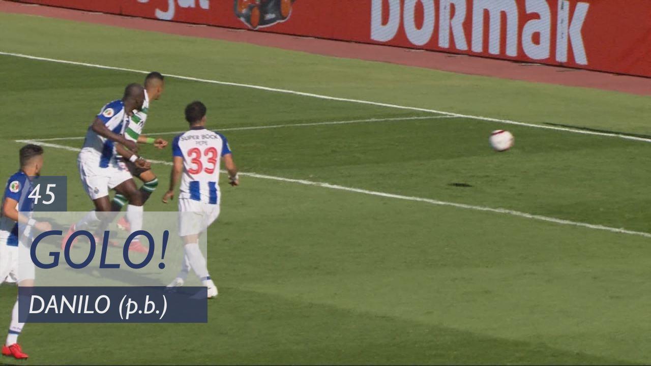 GOLO! Sporting CP, Bruno Fernandes aos 45', Sporti...