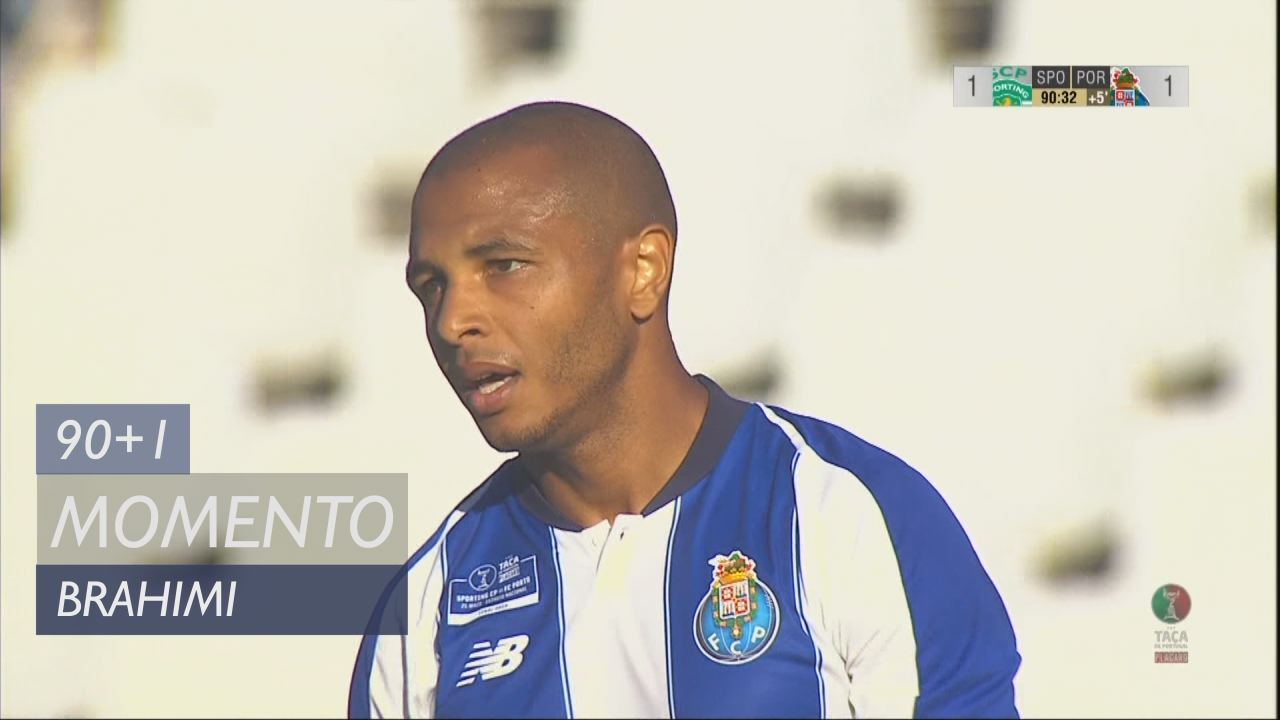 FC Porto, Jogada, Brahimi aos 90'+1'