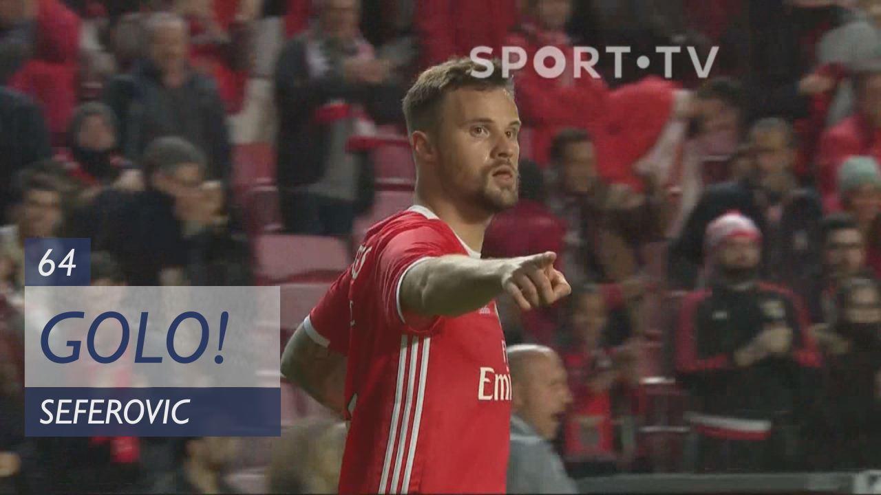 GOLO! SL Benfica, Seferovic aos 64', SL Benfica 2-...