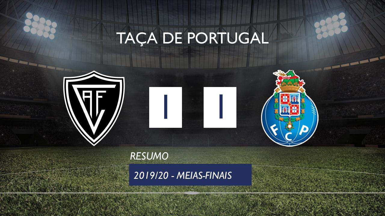 Taça de Portugal (Meias-Finais): Resumo Ac. Viseu 1-1 FC Porto