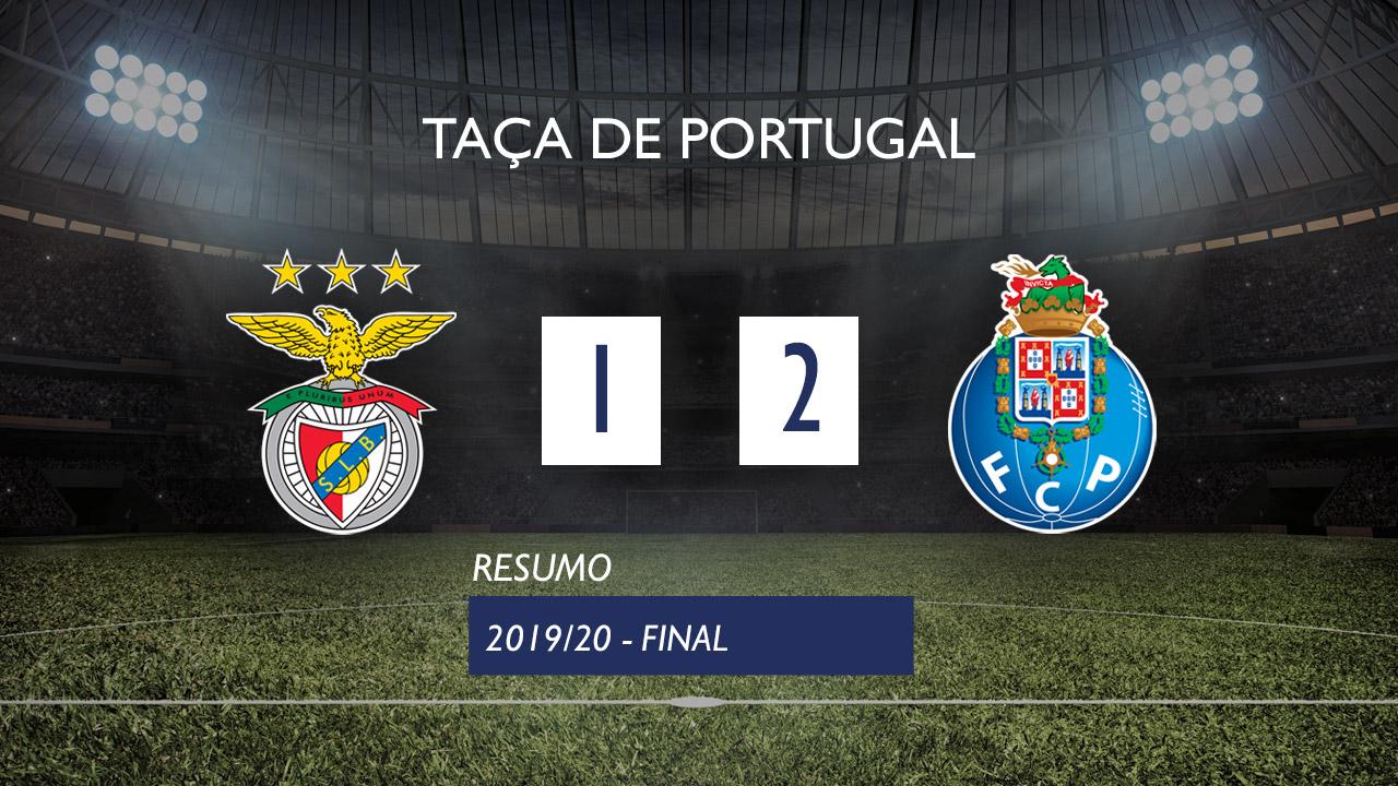 Taça de Portugal (Final): Resumo SL Benfica 1-2 FC Porto