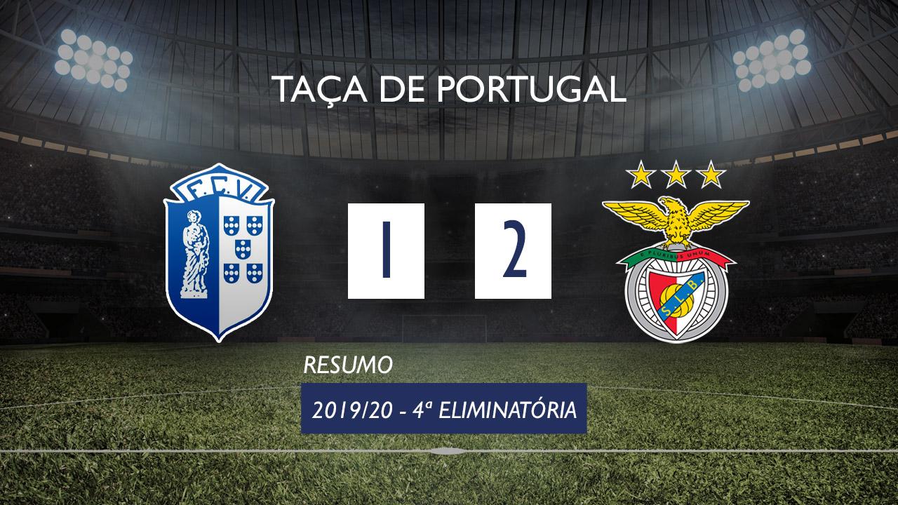 Taça de Portugal (4ª Eliminatória): Resumo Vizela 1-2 SL Benfica