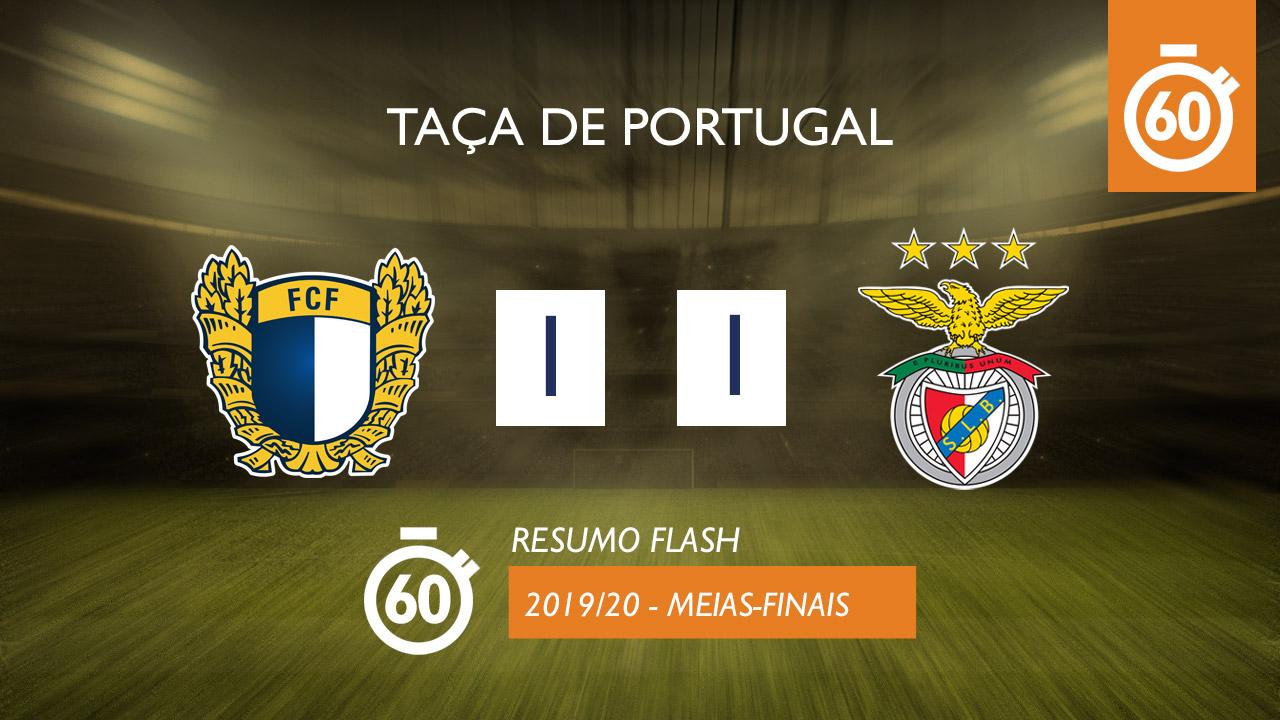 Taça de Portugal (Meias-Finais): Resumo Flash FC Famalicão 1-1 SL Benfica