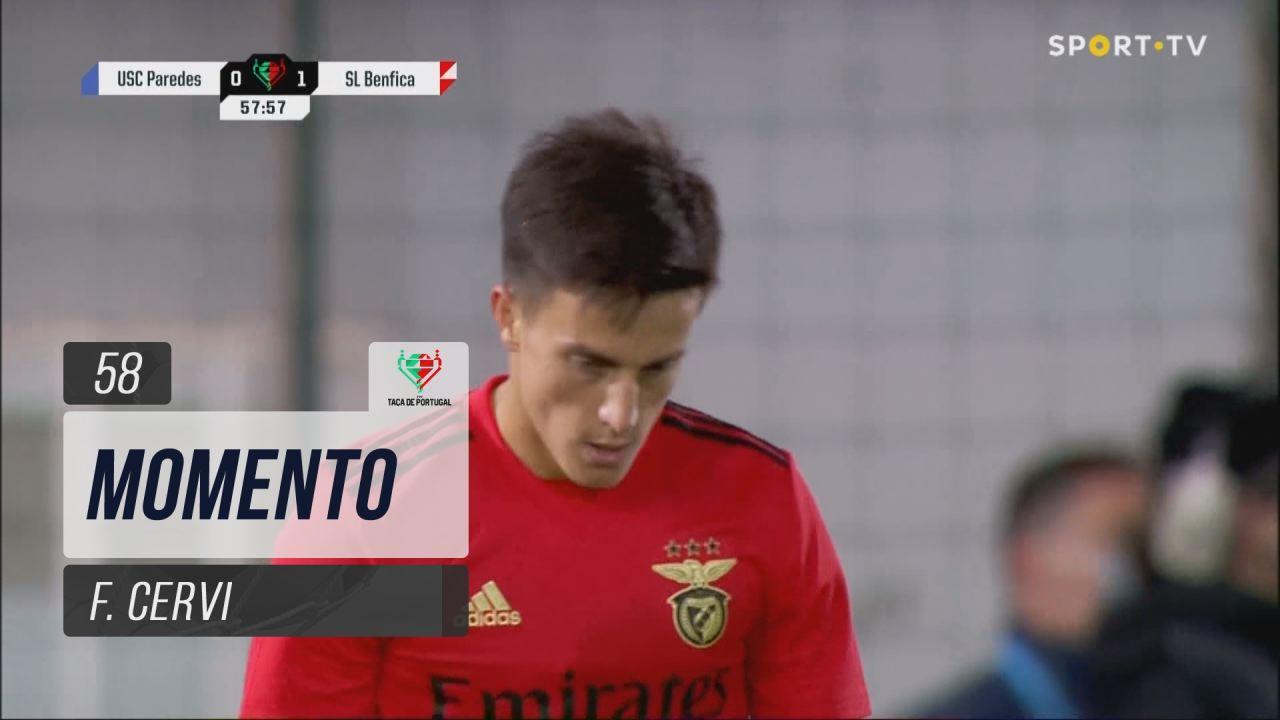 SL Benfica, Jogada, F. Cervi aos 58'