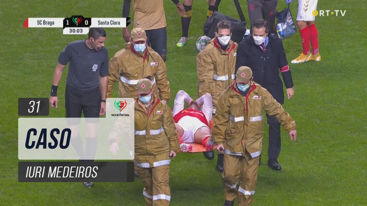 SC Braga, Caso, Iuri Medeiros aos 31'