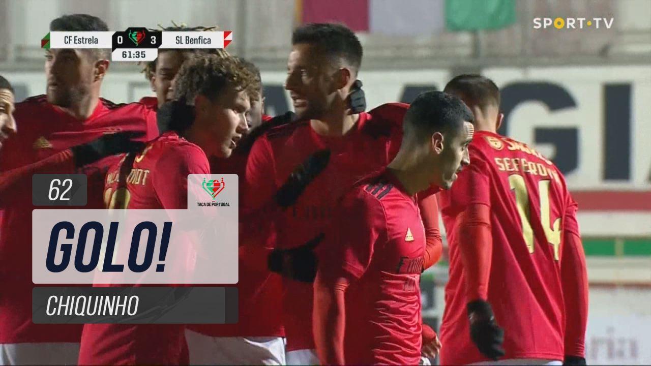 GOLO! SL Benfica, Chiquinho aos 62', E. Amadora 0-3 SL Benfica