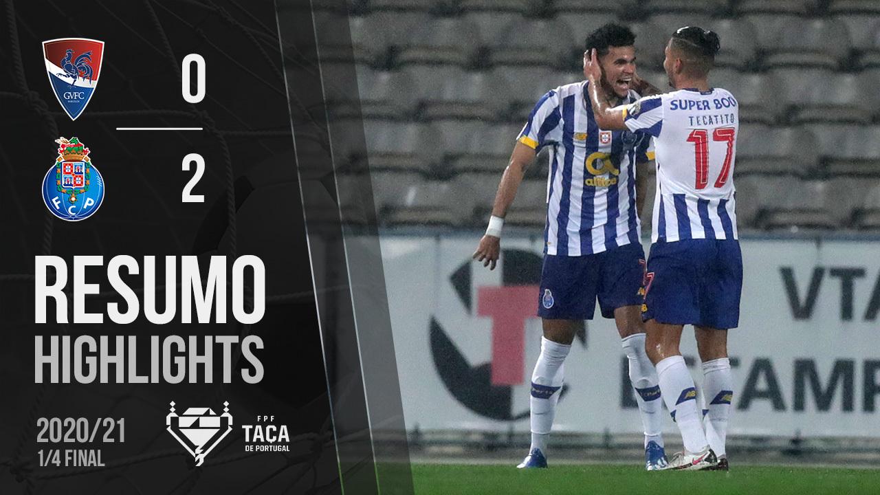 Taça Placard (Quartos de Final): Resumo Gil Vicente FC 0-2 FC Porto