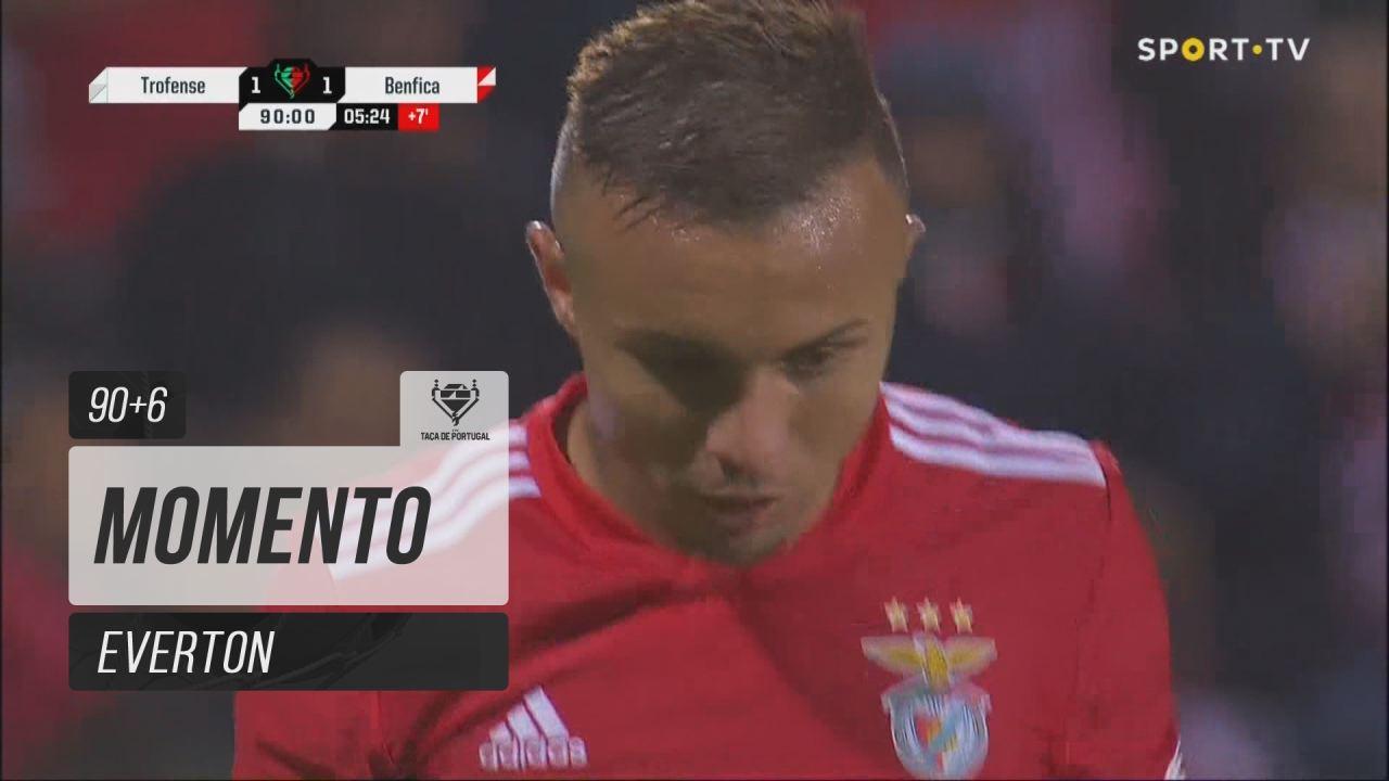 SL Benfica, Jogada, Everton aos 90'+6'