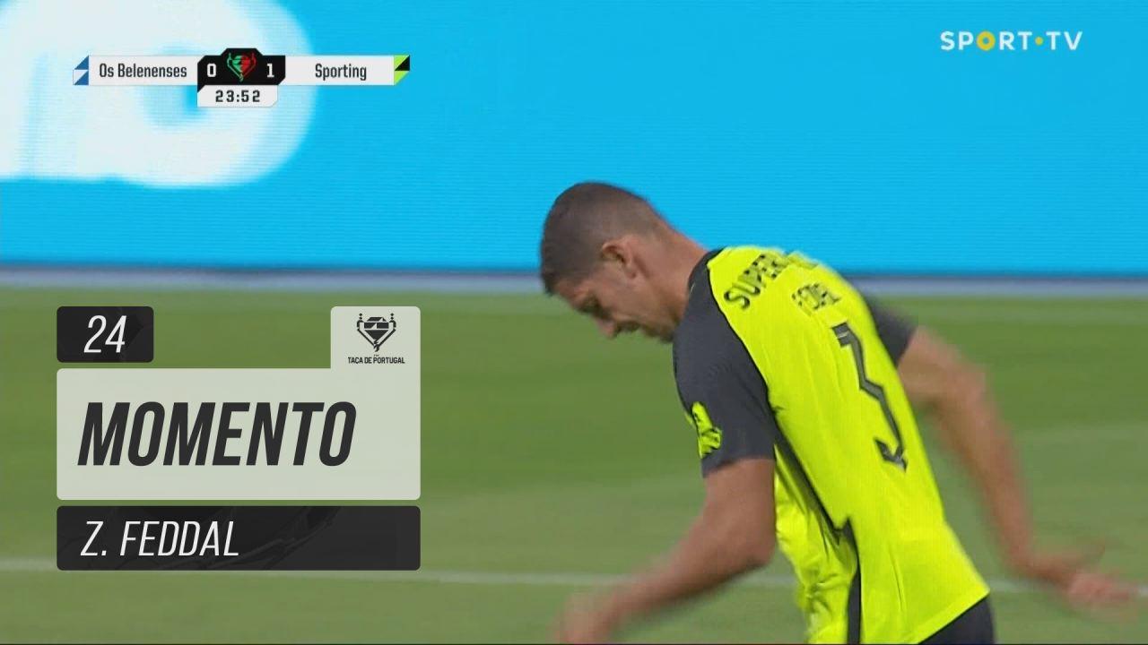 Sporting CP, Jogada, Z. Feddal aos 24'