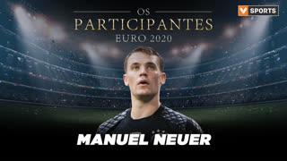 Os Participantes: Manuel Neuer