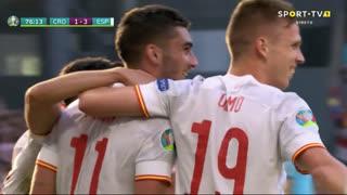 GOLO! Espanha, Ferran Torres aos 76', Croácia 1-3 Espanha