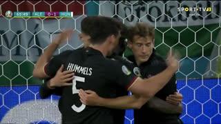 GOLO! Alemanha, K. Havertz aos 66', Alemanha 1-1 Hungria