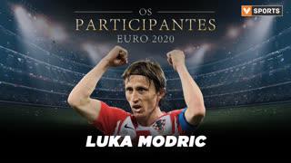 Os Participantes: Luka Modric