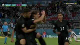 GOLO! Alemanha, L. Goretzka aos 84', Alemanha 2-2 Hungria