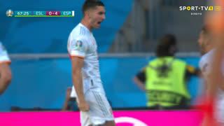 GOLO! Espanha, Ferran Torres aos 67', Eslováquia 0-4 Espanha