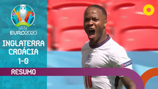 UEFA Euro (Fase de Grupos - Jornada 1): Resumo Inglaterra 1-0 Croácia