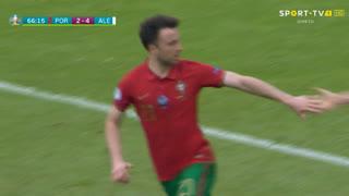 GOLO! Portugal, Diogo Jota aos 67', Portugal 2-4 Alemanha