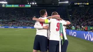 GOLO! Inglaterra, H. Kane aos 50', Ucrânia 0-3 Inglaterra