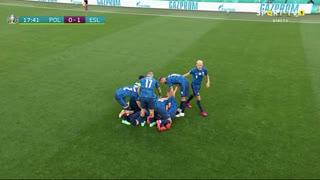 GOLO! Eslováquia, W. Szczęsny (p.b.) aos 18', Polónia 0-1 Eslováquia