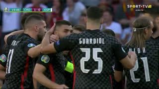 GOLO! Croácia, Unai Simón (p.b.) aos 20', Croácia 1-0 Espanha
