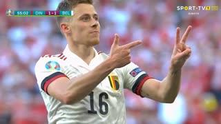 GOLO! Bélgica, T. Hazard aos 54', Dinamarca 1-1 Bélgica