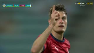 GOLO! República Checa, P. Schick aos 49', República Checa 1-2 Dinamarca