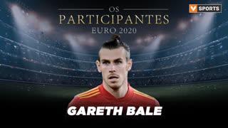 Os Participantes: Gareth Bale