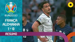 UEFA Euro (Fase de Grupos - Jornada 1): Resumo França 1-0 Alemanha