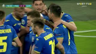 GOLO! Ucrânia, R. Yaremchuk aos 79', Países Baixos 2-2 Ucrânia