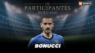 Os Participantes: Leonardo Bonucci