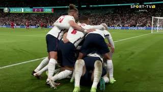 GOLO! Inglaterra, H. Kane aos 104', Inglaterra 2-1 Dinamarca