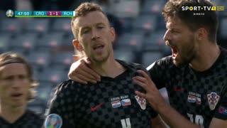 GOLO! Croácia, I. Perišić aos 47', Croácia 1-1 República Checa