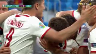 GOLO! Polónia, K. Linetty aos 46', Polónia 1-1 Eslováquia