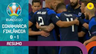 UEFA Euro (Fase de Grupos - Jornada 1): Resumo Dinamarca 0-1 Finlândia