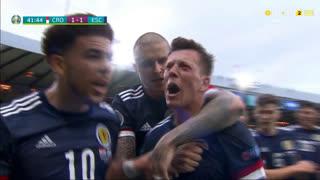 GOLO! Escócia, C. McGregor aos 42', Croácia 1-1 Escócia
