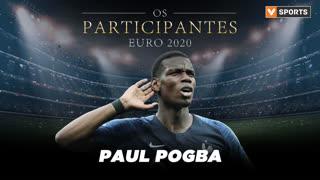 Os Participantes: Paul Pogba