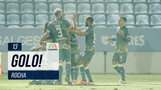 GOLO! GD Chaves, Luís Rocha aos 13', CD Feirense 0-1 GD Chaves