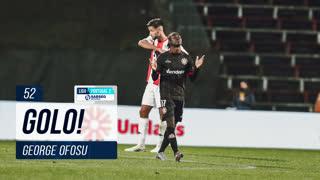 GOLO! Varzim SC, George Ofosu aos 52', Leixões SC 0-1 Varzim SC