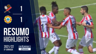 Liga Portugal SABSEG (5ª Jornada): Resumo Leixões SC 1-1 Varzim SC
