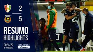 Liga Portugal SABSEG (5ª Jornada): Resumo Estrela Amadora 2-5 Rio Ave FC