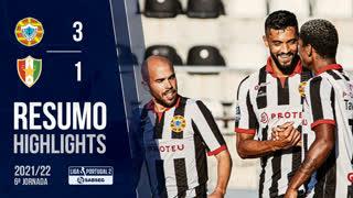 Liga Portugal SABSEG (6ª Jornada): Resumo Varzim SC 3-1 Estrela Amadora