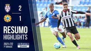 Liga Portugal SABSEG (7ª Jornada): Resumo CD Feirense 2-1 Varzim SC
