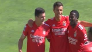 GOLO! SL Benfica B, Henrique Araújo aos 13', SC Farense 0-2 SL Benfica B