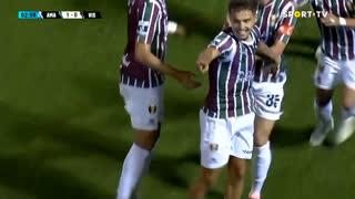 GOLO! Estrela Amadora, Diogo Pinto aos 4', Estrela Amadora 1-0 Ac. Viseu