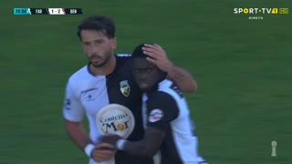 GOLO! SC Farense, Cristian Ponde aos 21', SC Farense 1-2 SL Benfica B