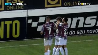 GOLO! Estrela Amadora, Diogo Pinto aos 12', Estrela Amadora 4-0 Ac. Viseu